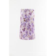Imprimir falda plisada tejida para la venta