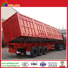 3 Axle 30-50tons Dump Truck Trailer for Sand Coal