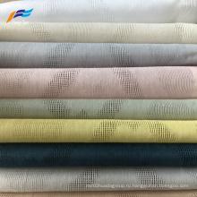 Жаккардовая ткань для штор из льняной вуали с натуральным стилем