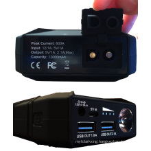12000mah mult-funtion emergency power bank portable battery car jump starter