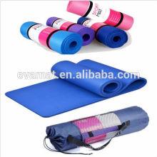 Alta qualidade eco não-deslizamento EVA espuma yoga mat, anti-fatigue exercício fitness workout mat, esteira do exercício