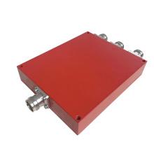138-960MHz IP65 Wilkinson Micro Stripline 4.3-10 Female 3 Way Power Divider