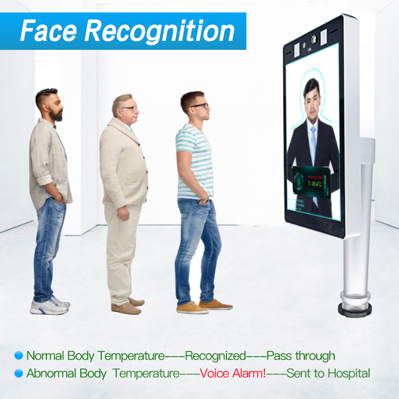 Office Facial recognition Thermometer