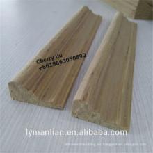 Uso de la India moldeado de madera de pino reconformado moldeado de madera