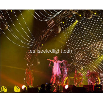 Event Stage 360degree LED Ball String Curtain