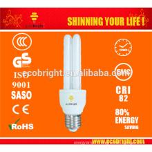 T4 2U 15W éconergétiques 10000 H CE qualité de lumière