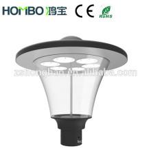 Hongbao fábrica calle peatonal 60W impermeable IP66 LED jardín lámpara / LED de iluminación del jardín