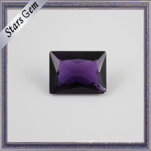 Special Rectangle Princess Cut Natural Amethyst for Jewellery