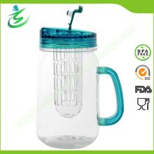 16 унций акриловой чашки с двойными стенками BPA, Mason Jar (IB-A5)