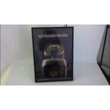 Wall Mounting Flashing Beverage Display LED Poster Advertising Dynamic Light Box