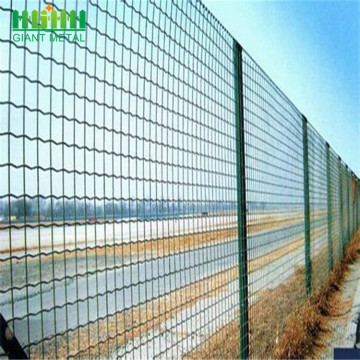 PVC Coated Welded Euro Wire Mesh Fence