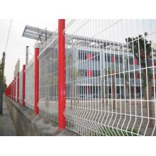 ISO 9001 Треугольный изгиб Сварной сетчатый забор