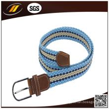 Men′s Waist Braided Belt Elastic Braided Belts for Jeans