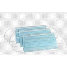 Masque facial de sécurité jetable à 3 plis