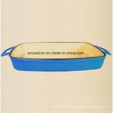 Emaille Gusseisen Backen Schüssel Pan Hersteller aus China