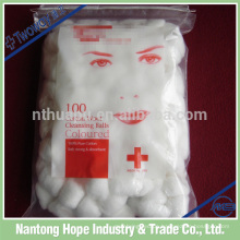 Unsterile oder sterile Verpackung Medical Cotton Wool Ball
