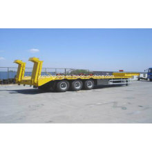 40 Tonnen Drei Achsen Low-Plate Sattelauflieger