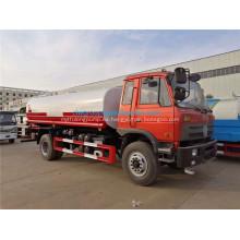 Dongfeng 15000 litros de capacidad de agua camión cisterna