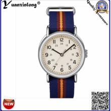 Yxl-127 Мода Новые Часы Выдвиженческого Нейлона НАТО Дамы Платье Наручные Часы Япония Movt Наручные Часы Мужские