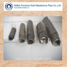 Seamless carbon triangular steel pipe and triangle steel tube