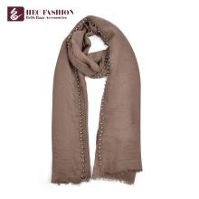 HEC Promotional Multipurpose Fashion Elegant Shawl Scarf With Custom Print