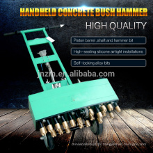 handheld concrete bush hammer for concrete ground spilke hammer