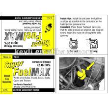 Super Kraftstoff max, Saver Geld, Bis zu 30% Erhöhung der Motorenleben