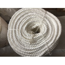 Cuerda de nylon de la cuerda del polipropileno de la cuerda del poliester de las cuerdas del amarre de 3 strands
