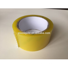 Yellow BOPP packing tape