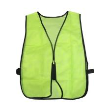 Camisola de Segurança Refletiva Verde com Fita Elástica