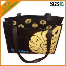 Nice logo printed pp non woven carrier bag