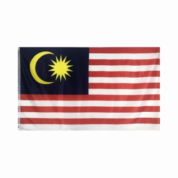 Polyester Malaysia Nationalflagge