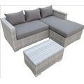 Outdoor PE Rattan Sofa Set With Cushion