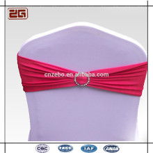 Trade Assurance Guangdong Manufacture Spandex Lycra Chaise Sash Avec Boucle En Plastique