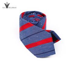 Corbata de seda del cuello del poliéster flaco para hombre barato hecho a mano al por mayor italiano de encargo del cuello
