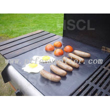 Ptfe Resuable Non-stick BBq Grill Mat-cooking Meat Fish Vegetable
