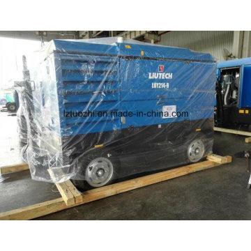 Atlas Copco-Liutech 756cfm 9bar Портативный дизельный воздушный компрессор