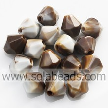 Buy 8MM Colors Bicone Charming Bead