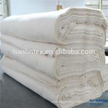 Home Textile Use e 100% algodão, mistura de algodão poliéster Material tecido tecido liso cinzento