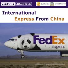 Service de livraison de porte à porte express de la Chine vers le monde entier (courrier par DHL, UPS, Fedex, TNT, EMS)