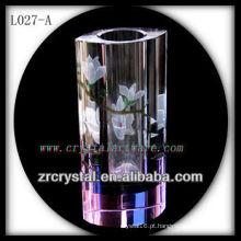 Vaso de cristal agradável L027-A