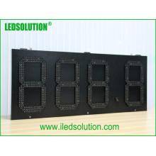 Sinal LED de preço de gás