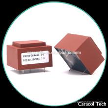 Transformador de baixa freqüência de 24 volts e 10 amp