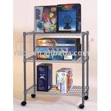 Estante cómodo ajustable del estante del alambre comercial para el almacén / la tienda (CJ-A1049)
