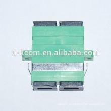 Adaptador de fibra óptica dúplex SC / APC
