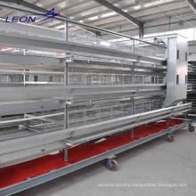 Leon series layer chicken quail broiler chicken cage feeding system