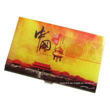 Chinoiserie Epoxy Steel Name Card Holder (BS-E-010)