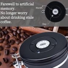 Recipiente de armazenamento hermético do café 22oz com colher