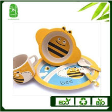 High Quality Bamboo Fibre Children Dinnerware (BC-BB-SU2005)