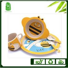 Alta qualidade bambu fibra crianças Dinnerware (BC-BB-SU2005)